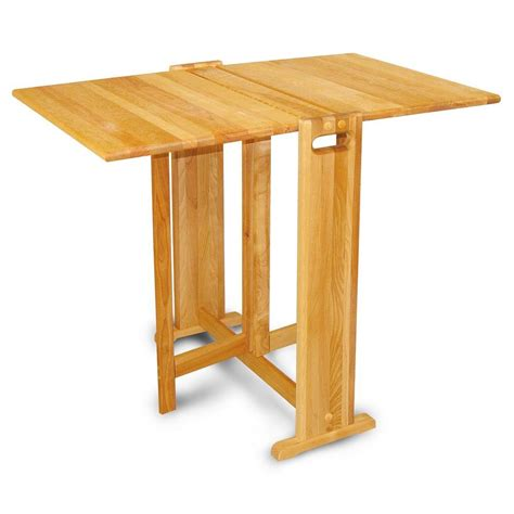 Catskill Kitchen Islands - catskill craftsmen natural hardwood butcher block folding table 1622 the home depot