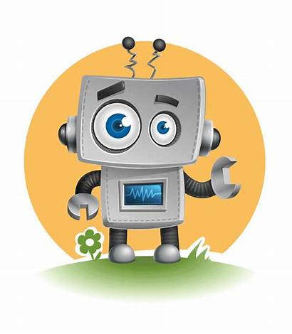 Robot Vector Character Robots Characters Animated Simple