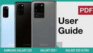 Galaxy S20 User Guide And Manual Instructions For Beginners