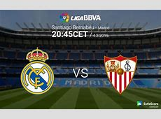 Real Madrid vs Sevilla match preview Primera La Liga BBVA