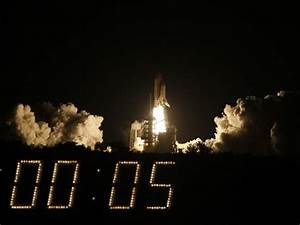 NASA gets new countdown clock just in time