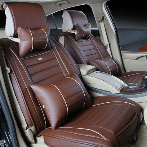 the new leather car seat linen cushions supplies