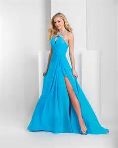 bridesmaid dresses turquoise turquoise a line halter low back high slit sweep floor length sequined chiffon prom dresses