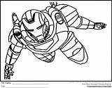 Coloring Pages Superheroes Print sketch template