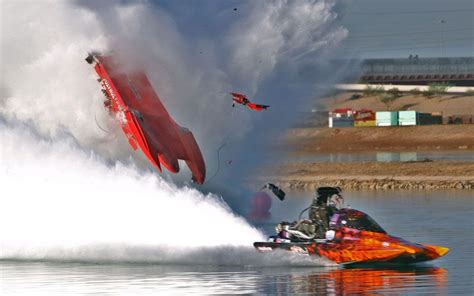 Drag Boat Racing Accidents by Drag Boat Racing Bad Accidents Word Is He Is Just