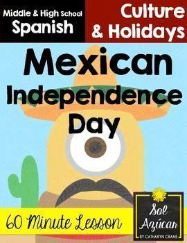 Mexican Independence Day Lesson - Día de la independencia ...
