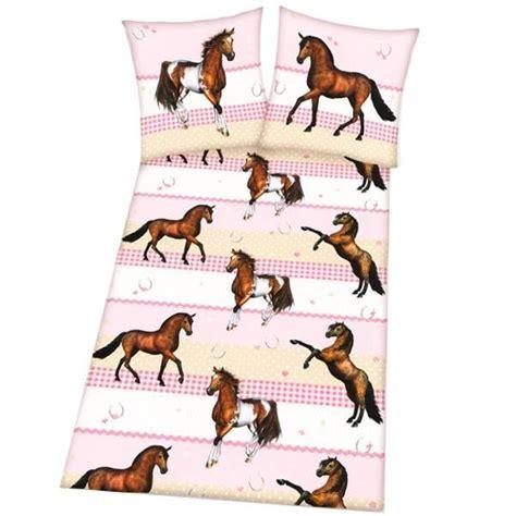 housse de couette motif cheval housse de couette et taie d oreiller motif chevaux cavacado
