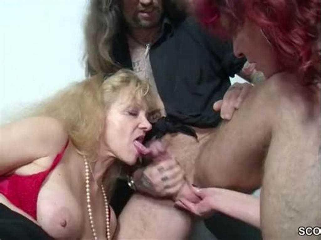 #German #Mom #And #Aunt #Seduce #Younger #Man #To #Fuck #Her