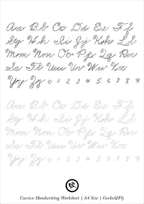 printable cursive handwriting worksheets  beautiful