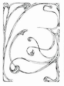 Border Art Nouveau 17 - Bnspyrd's Sta.sh