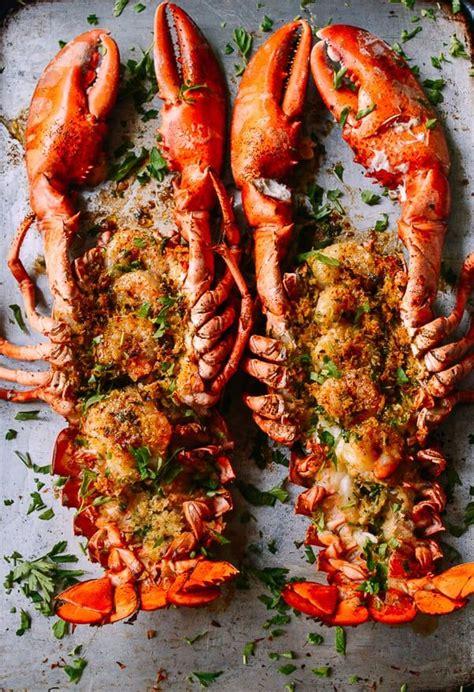 baked stuffed lobster  shrimp recipe lobster