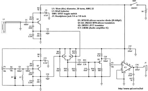 sensors detectors metal detectors electronic circuits