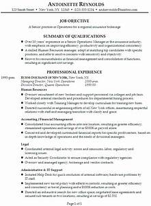 resume for a senior manager of operations susan ireland With how to write a resume for a manager position
