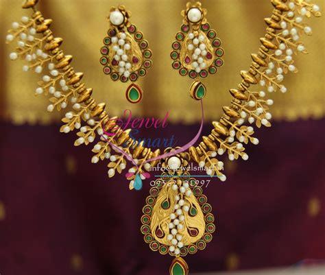 nl exclusive gold design handmade real pearls kempu