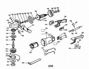 Craftsman 7 U0026quot  Angle Grinder Parts