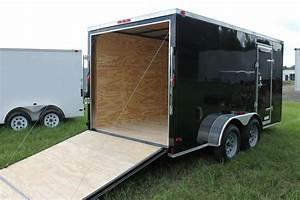 6x12 Enclosed Cargo Trailer Tandem Dual V