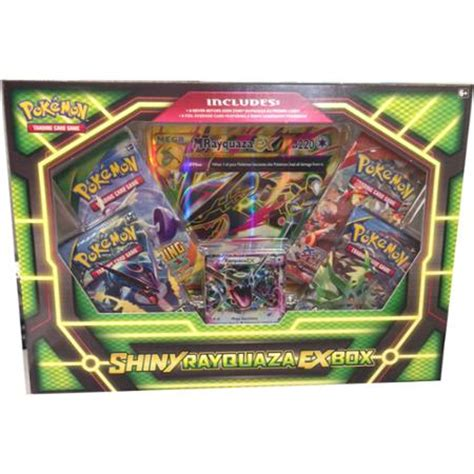 pokemon shiny rayquaza ex box walmart com