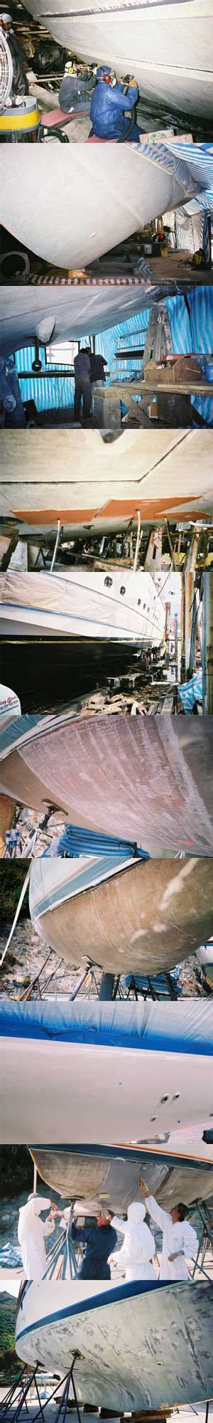 How To Repair Osmosis On A Boat by Boat Hull Osmosis Repair Proven Treatment For Grp Boat