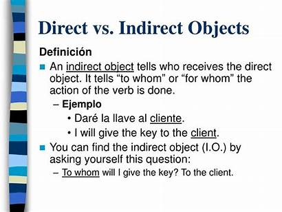Indirect Direct Object Objects Pronouns Sentence Come