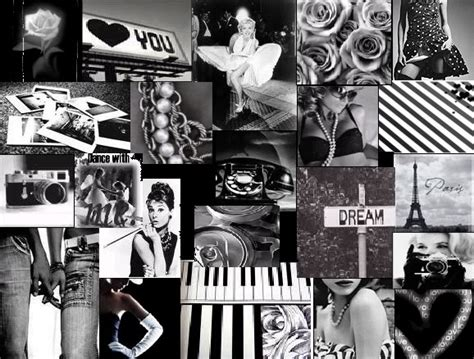 Black And White Collage  Black And White Collage Mixed
