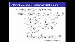 Differenzial Rechnung : differentialrechnung teil 24 extremwertbestimmung weitere beispielaufgaben youtube ~ Themetempest.com Abrechnung