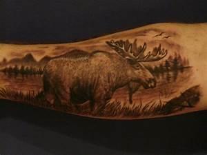 Wild Tattoos: Moose tattoos