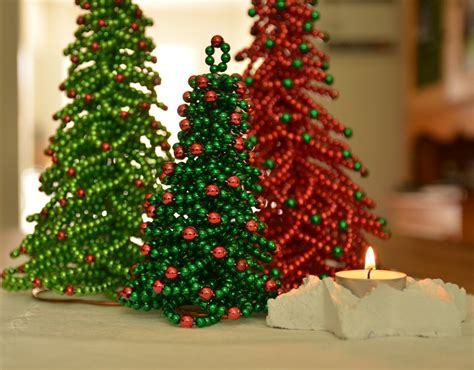 Chritmas Tree Beading Pattern Christmas Tree Tutorial