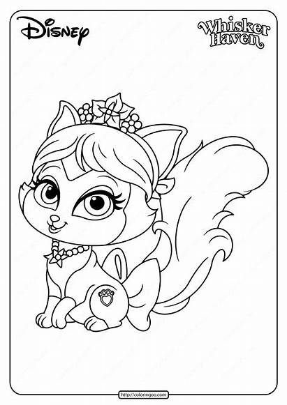 Coloring Palace Pets Printable Plumdrop Pages