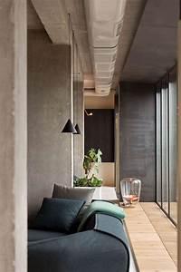 Modern Penthouse Design  U2013 A Masculine Interior In Industrial Style