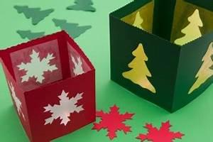Windlicht Falten Transparentpapier : weihnachtliche tischlaternen lamp und leute ~ Lizthompson.info Haus und Dekorationen