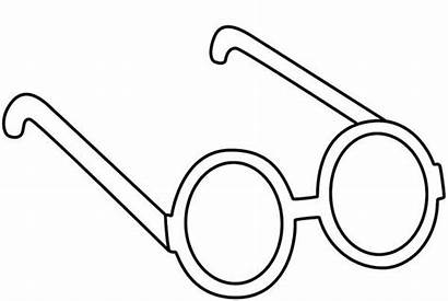 Coloring Pages Glasses Lennon John Eyeglasses Designlooter