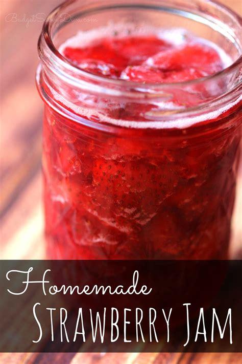 homemade strawberry jam marie recipe budget savvy diva