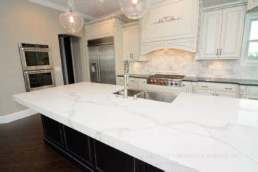 How Thick Is Quartz Countertop by 2 5 Thick Mitered Built Up Edge With Quartz Countertops