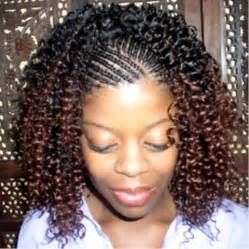 Hair Braids with Weave