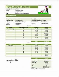 lawn mowing contract template joy studio design gallery With grass cutting invoice