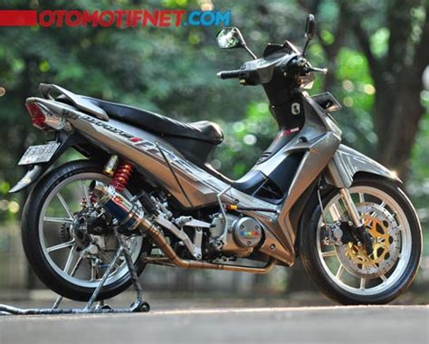 Supra X 125 Modifikasi by 2 Modifikasi Honda Supra X 125 Futuristik