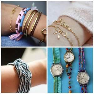 Porte Clé En Tissus A Faire Soi Meme : diy bracelet 34 projets d 39 accessoires qui impressionnent ~ Melissatoandfro.com Idées de Décoration