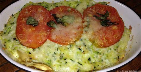 recette de cuisine simple et facile gratin de raviolis et courgettes
