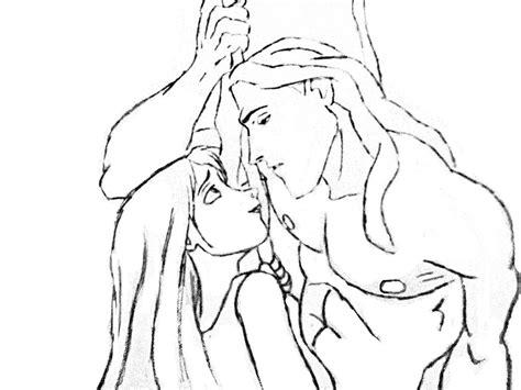 Disney Tarzan Drawing At Getdrawings.com