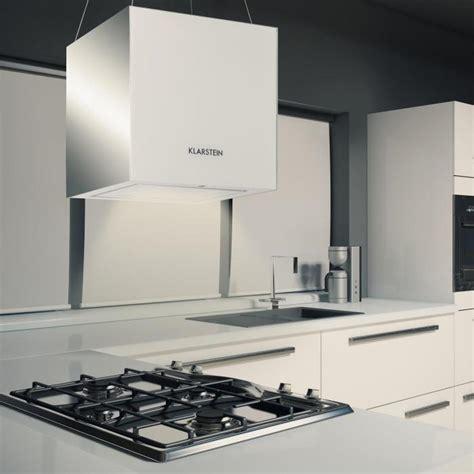 hotte aspirante 238 lot suspension plafond led verre r 233 fl 233 chissant blanc blanc klarstein