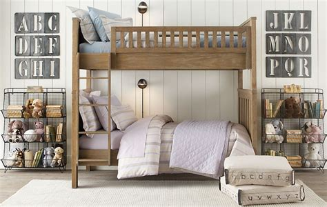 restoration hardware bunk bed la la linen restoration hardware baby child