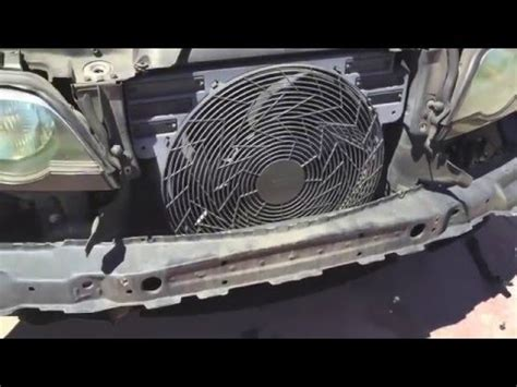 bmw e38 and e39 auxiliary fan test if yours is bad or not funnydog tv