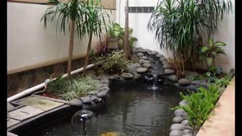 contoh disain taman   rumah indoor garden keren