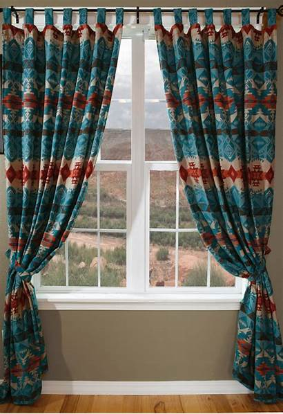 Turquoise Curtains Chamarro Drapes Window Treatments Bedding