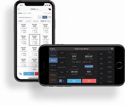 Mobile Interactive Brokers App Trading Broker Trader