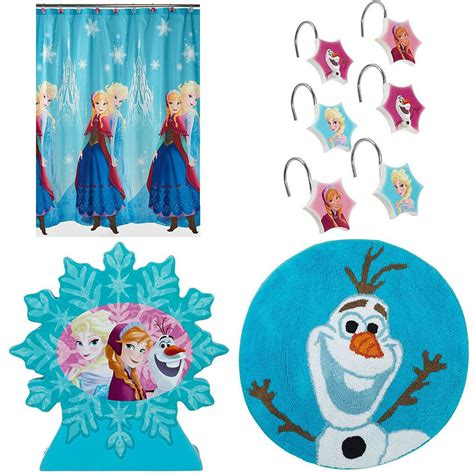Cheap Disney Bathroom Sets by New Nwt Disney Frozen Elsa Olaf Bathroom Shower