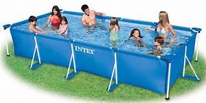 Piscine Tubulaire Oogarden : petite piscine tublaire metal intex 450x220x84 cm ~ Premium-room.com Idées de Décoration