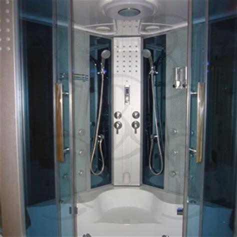 Pre Built Shower Enclosures by Ariel 701 Steam Shower Jetted Jacuzzi Whirlpool Bath Tub Unit