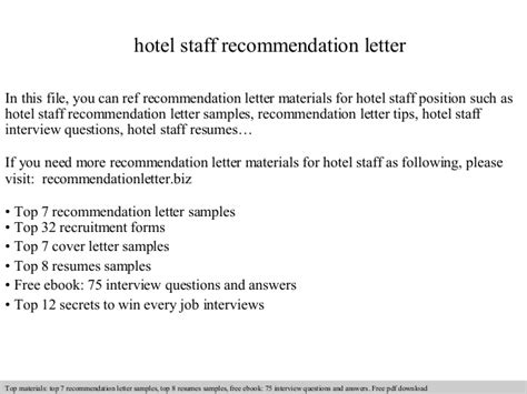 Hotel Front Desk Manager Salary by Hotel Staff Recommendation Letter