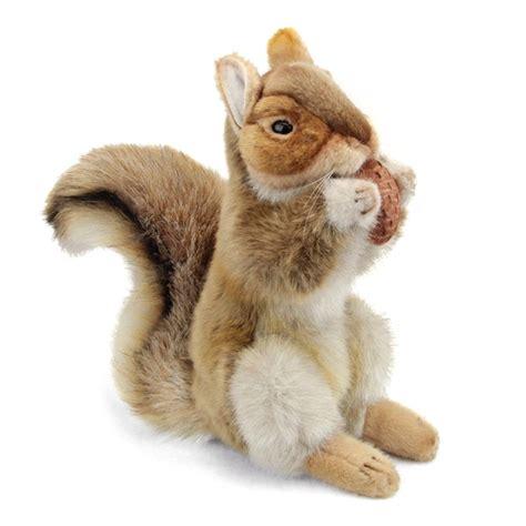 handcrafted   standing lifelike squirrel stuffed